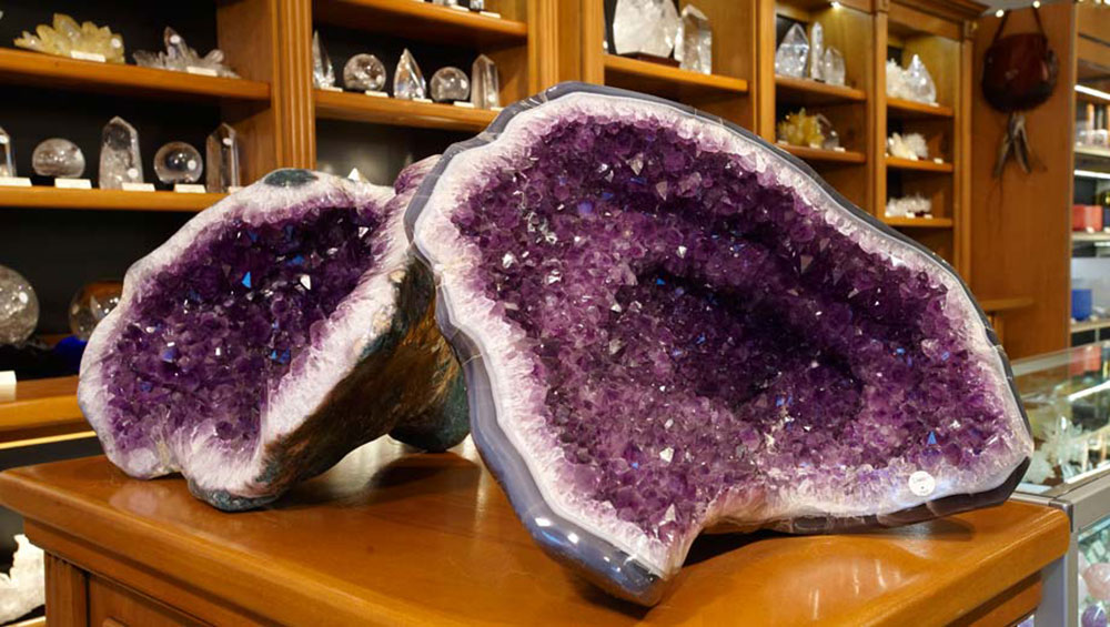 Large Amethyst Geode from Brazil