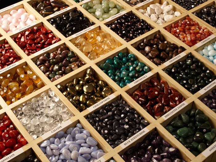 Large selection of tumbled stones